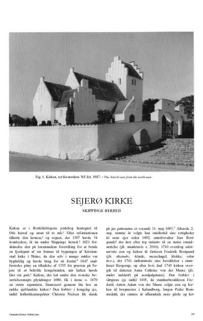 Sejerø Kirke