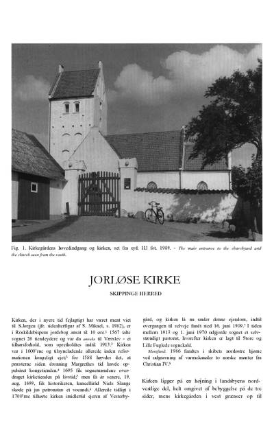 Jorløse Kirke
