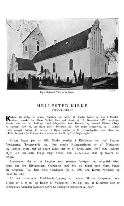 Hellested Kirke