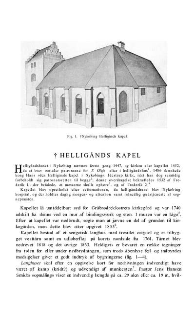 Helligånds †kapel