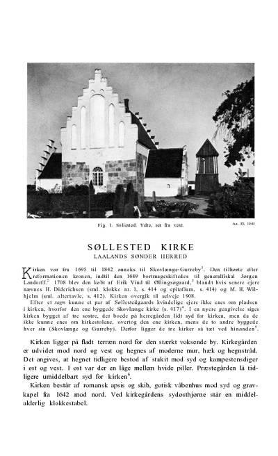 Søllested Kirke