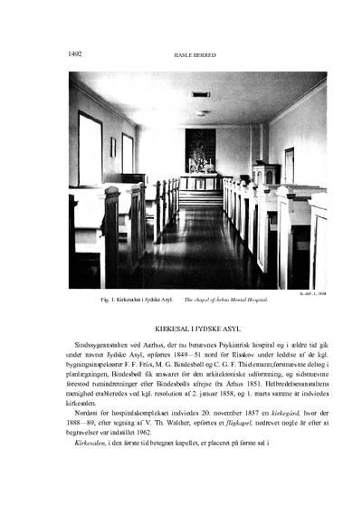 Kirkesal i Jyske Asyl