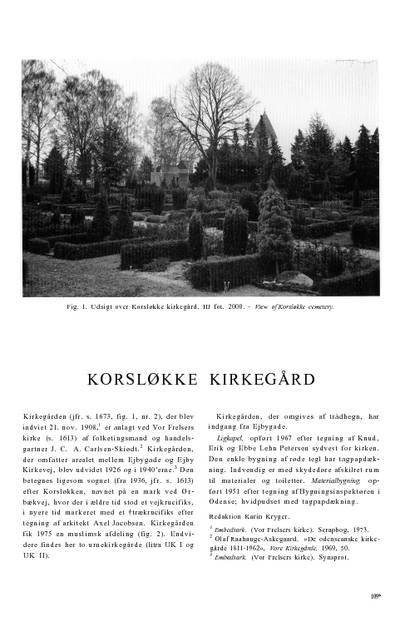 Korsløkke Kirkegård