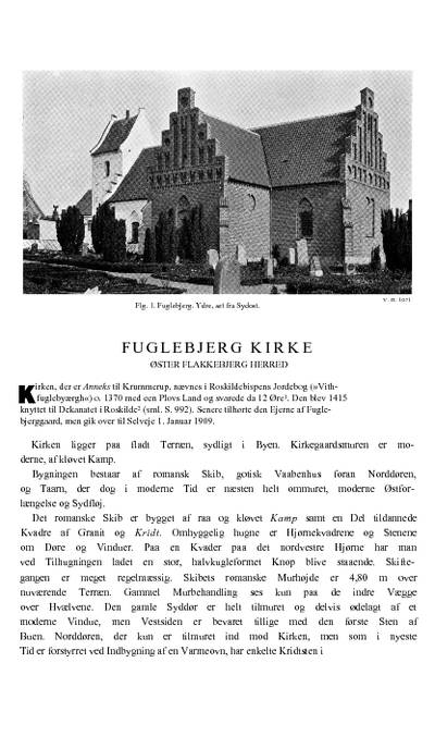 Fuglebjerg Kirke