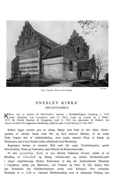 Sneslev Kirke