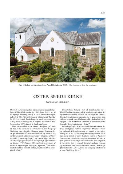 Øster Snede Kirke