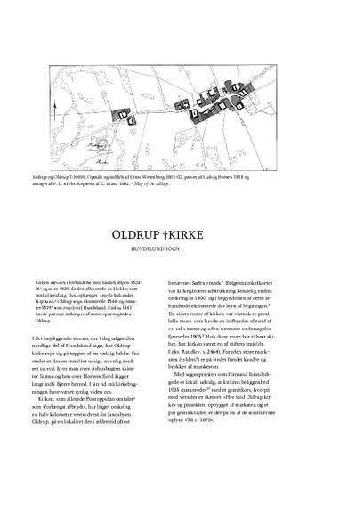 Oldrup †Kirke