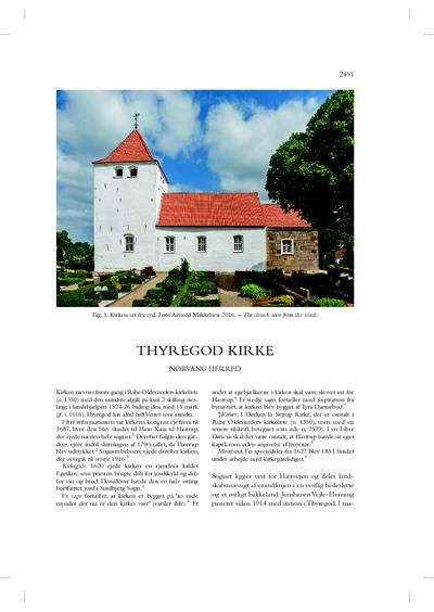 Thyregod Kirke