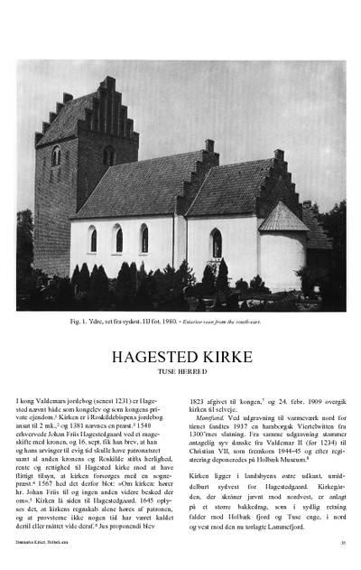 Hagested Kirke