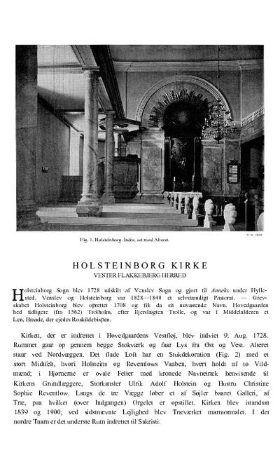 Holsteinborg Kirke