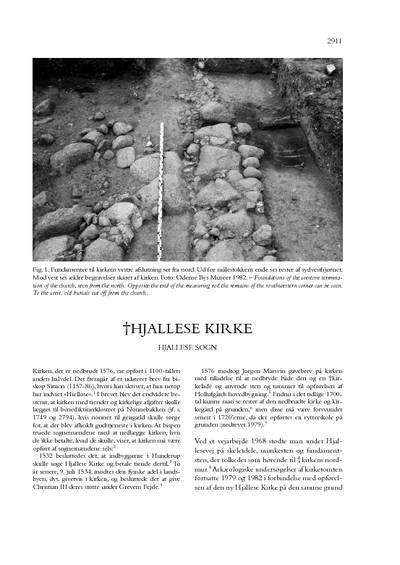 Hjallese †Kirke (tidl.)