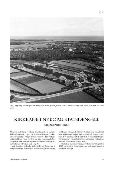 Steensgårds Kirke i Nyborg Statsfængsel