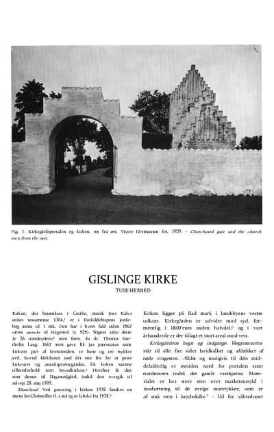 Gislinge Kirke