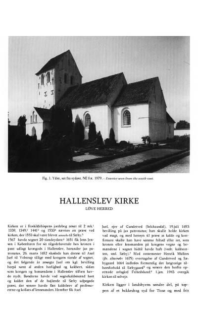 Hallenslev Kirke