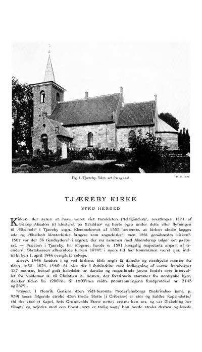 Tjæreby kapel