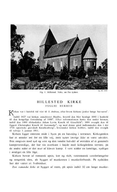 Hillested Kirke