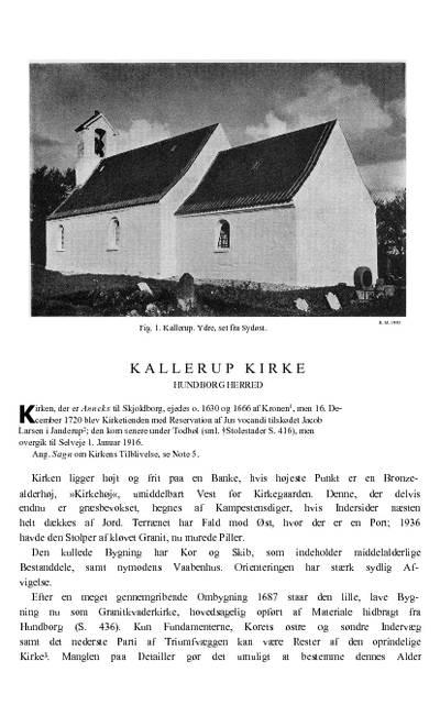 Kallerup Kirke