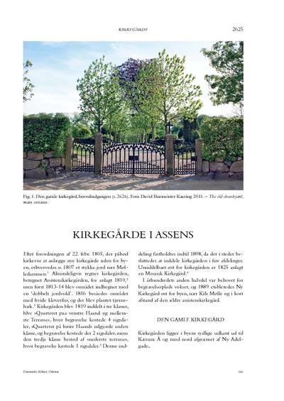 Kirkegårde i Assens