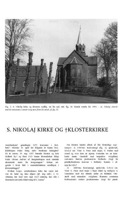 Skt. Nikolaj Kirke og †Klosterkirke
