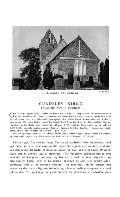 Gundslev Kirke
