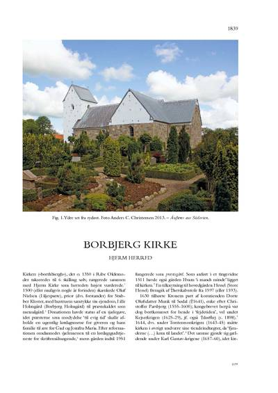 Borbjerg Kirke