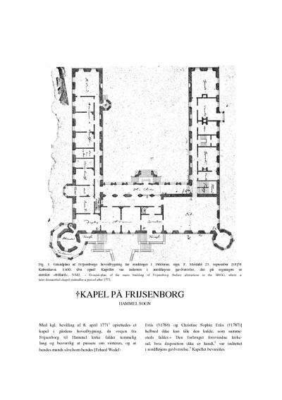 Frijsenborg Kapel