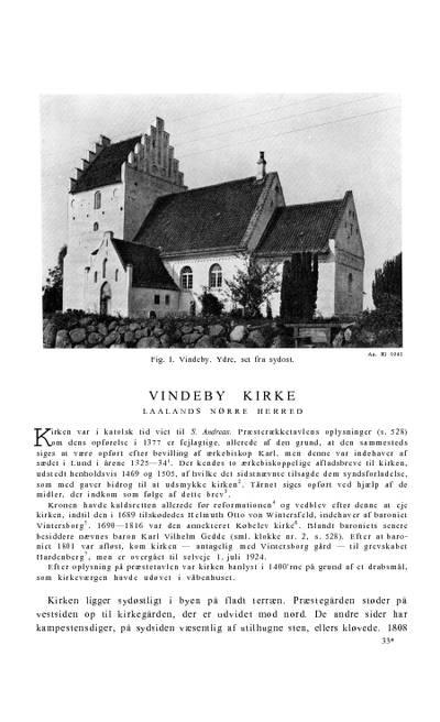 Vindeby Kirke