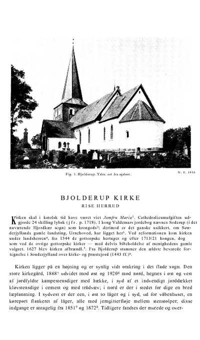 Bjolderup Kirke