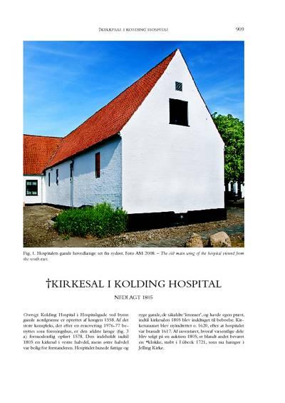 Kolding Hospital, †Kirkesal i