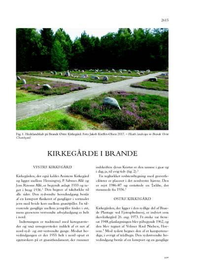 Kirkegårde i Brande