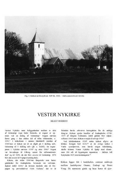Vester Nykirke