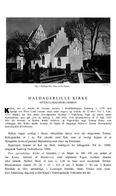 Haldagerlille Kirke