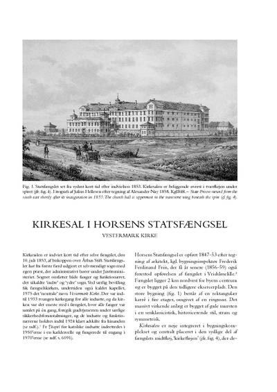 Horsens Statsfængsels kirkesal