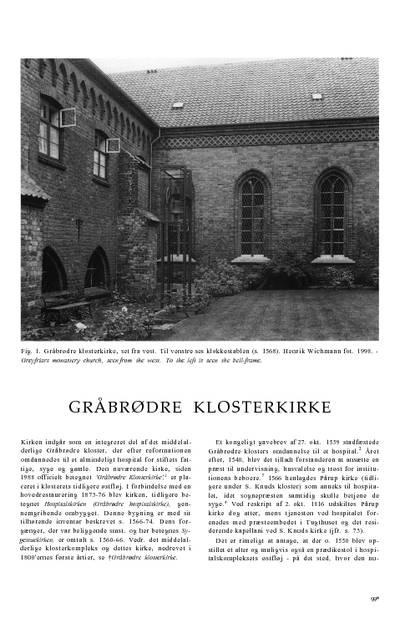 Gråbrødre Klosterkirke