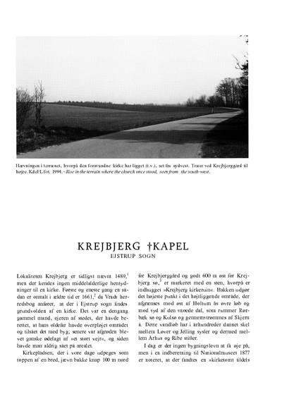 Krejbjerg †Kapel