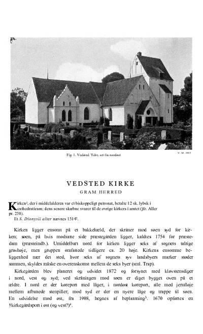 Vedsted  Kirke