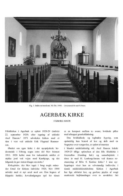 Agerbæk Kirke